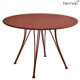 Table de Repas Rendez-Vous Ocre Rouge Fermob Jardinchic