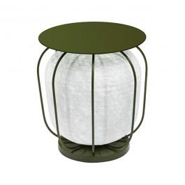 Table Lanterne In et Out Petit Modèle Vert Forestier JardinChic