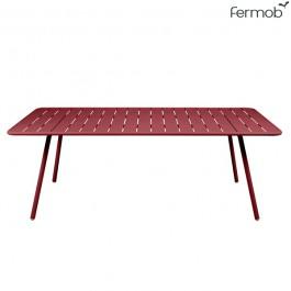 Table Luxembourg 207x100cm Piment Fermob Jardinchic