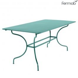 Table Manosque Bleu Lagune Fermob Jardinchic