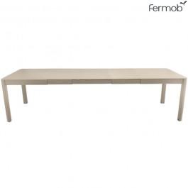 Table à Allonge Ribambelle XL 149/299x100cm Muscade Fermob Jardinchic