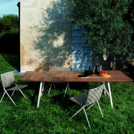 Table Tornado Face Roda JardinChic