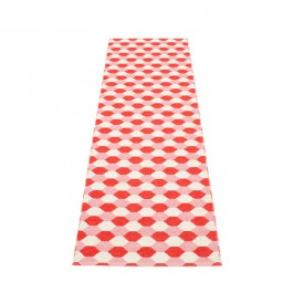 Tapis Coral Red - Piglet - Vanilla 70x250 Pappelina JardinChic