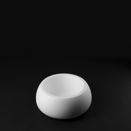 Pot T-Ball Blanc Mat Plust Jardinchic