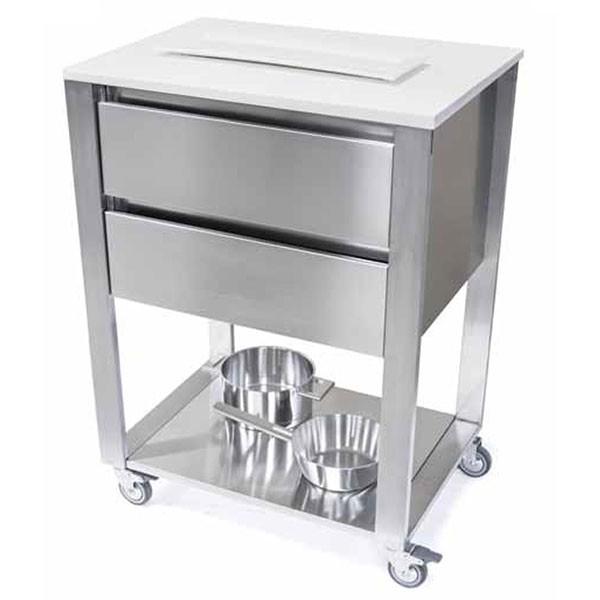 module de cuisine kada 2 tiroirs jardinchic. Black Bedroom Furniture Sets. Home Design Ideas