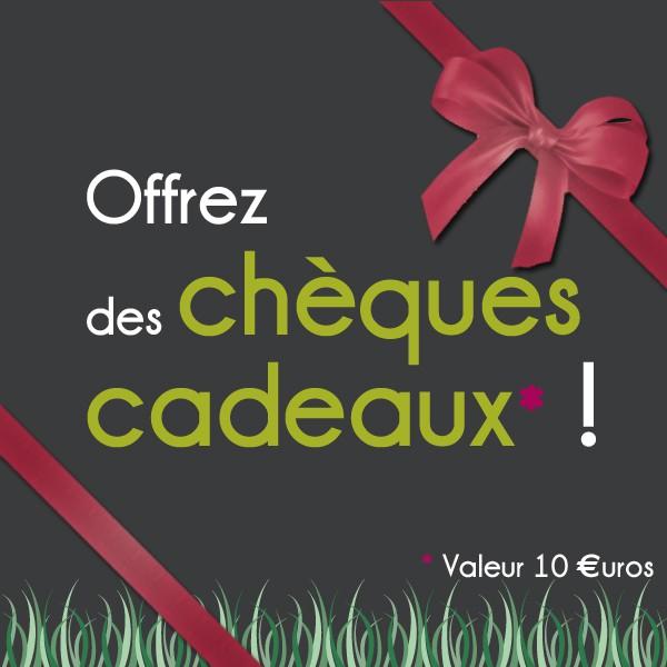 Chèque cadeau 10€ JardinChic