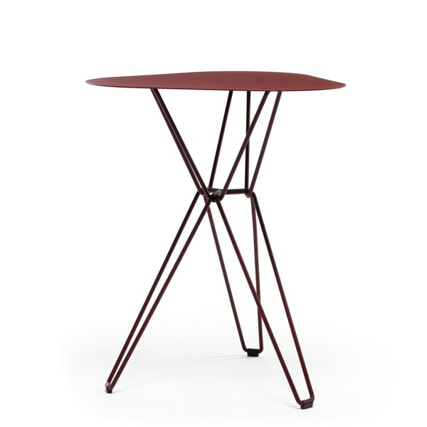 Table de caf triangulaire tio jardinchic for Table triangulaire