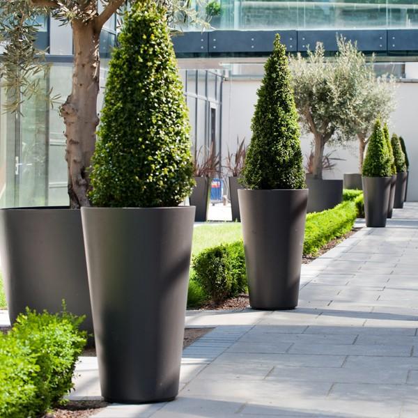 Pot alto jardinchic for Pot exterieur xxl