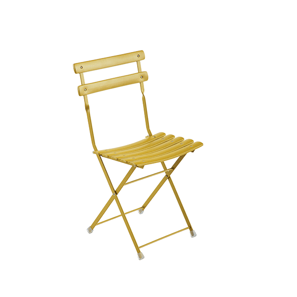 lot de 2 chaises pliables arc en ciel jardinchic