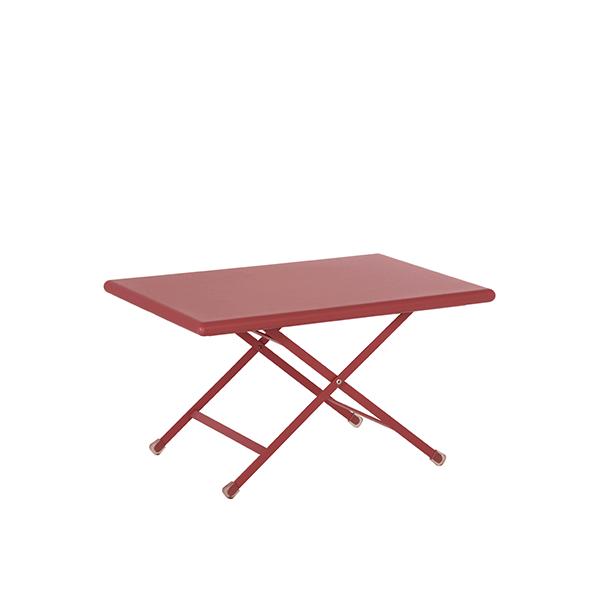 table basse pliable arc en ciel jardinchic. Black Bedroom Furniture Sets. Home Design Ideas