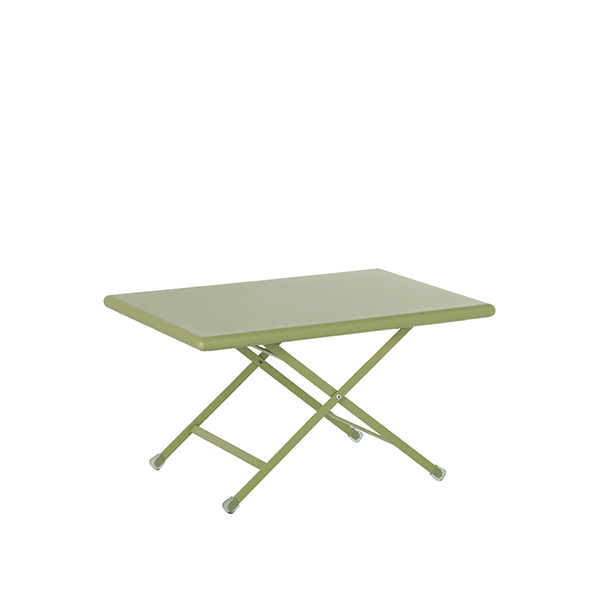Table basse pliable arc en ciel jardinchic for Table basse pliable