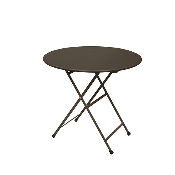 Table Ronde Pliable Arc En Ciel
