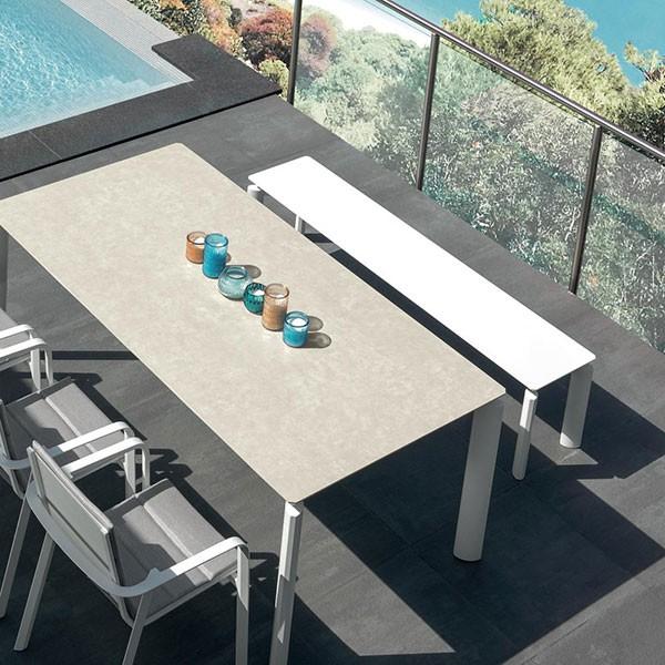 Table de Repas Aluminium Milo Talenti Jardinchic
