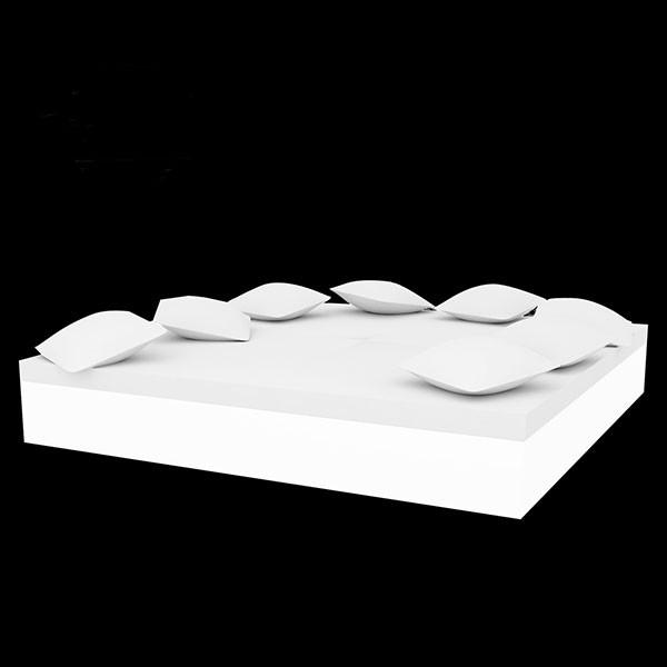Quadrat Banquette lumineux mannquequin Vondom JardinChic