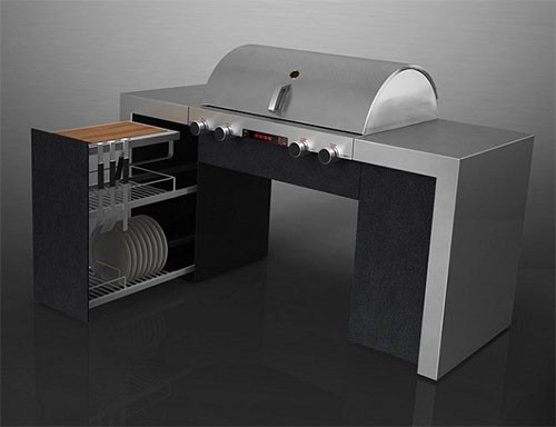 barbecue gaz x series 2 by porsche jardinchic. Black Bedroom Furniture Sets. Home Design Ideas