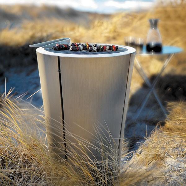 Barbecue à Charbon de Bois Ø49cm Ambiance Eva Solo JardinChic