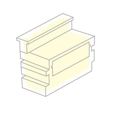 Kit d'éclairage pour Bar Tetris Pedrali JardinChic