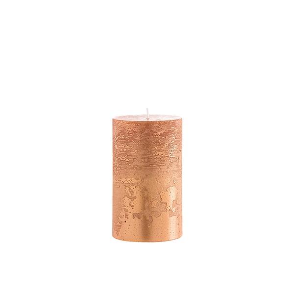 Bougie Cylindrique Cuivre Jardinchic