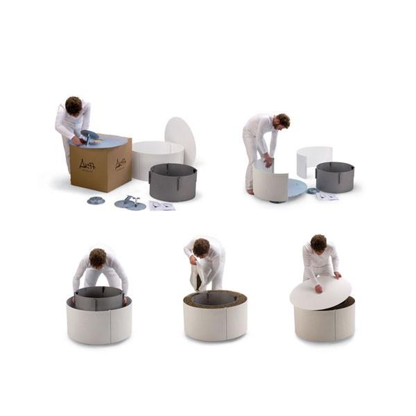 bras ro mangiafuoco blanc jardinchic. Black Bedroom Furniture Sets. Home Design Ideas