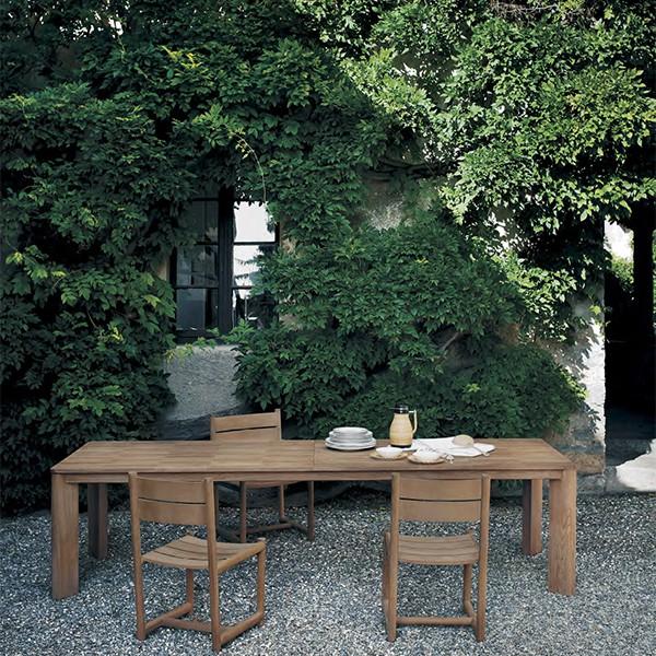 Table De Repas Rectangulaire Brick Roda JardinChic
