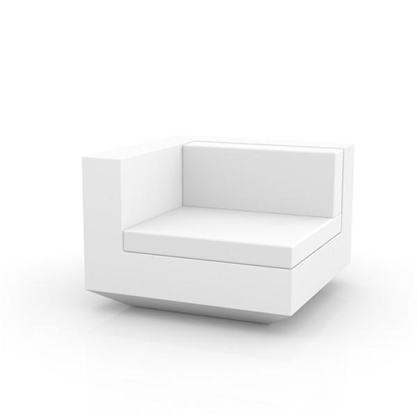 Canapé Modulable Vela - Module Droit Blanc Vondom Jardinchic