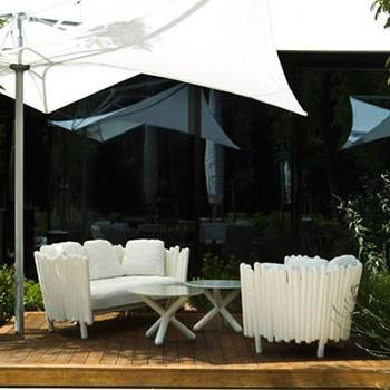Salon de Jardin Canisse Canapé Fauteuil Serralunga JardinChic