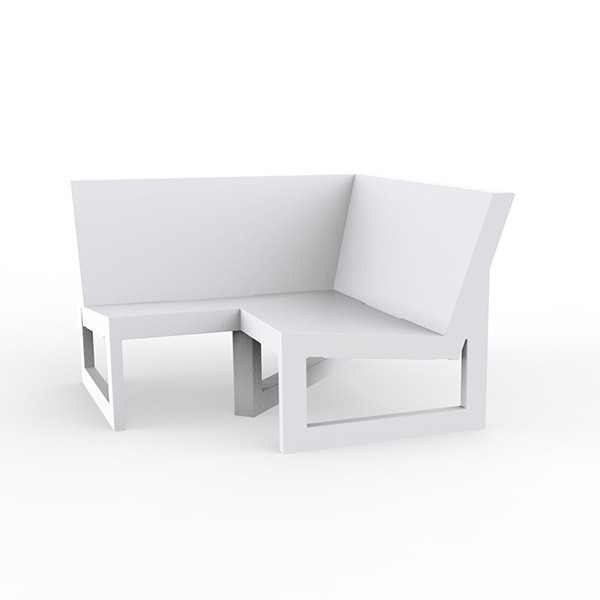 Canapé Modulable Frame - Module d'Angle Blanc Vondom Jardinchic