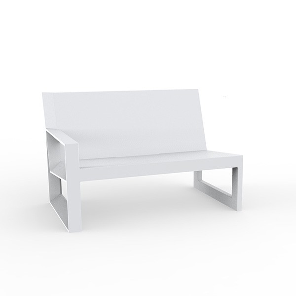 Canapé Modulable Frame - Module Droit Blanc Vondom Jardinchic