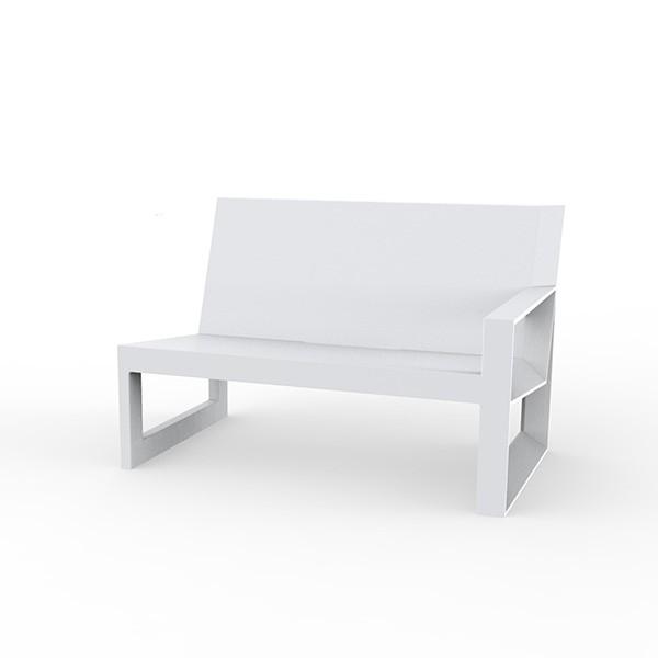 Canapé Modulable Frame - Module Gauche Blanc Vondom Jardinchic