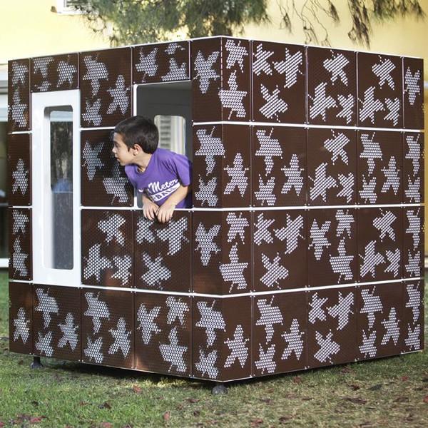 Cabane Casaforum Smartplayhouse vue d'ensemble JardinChic