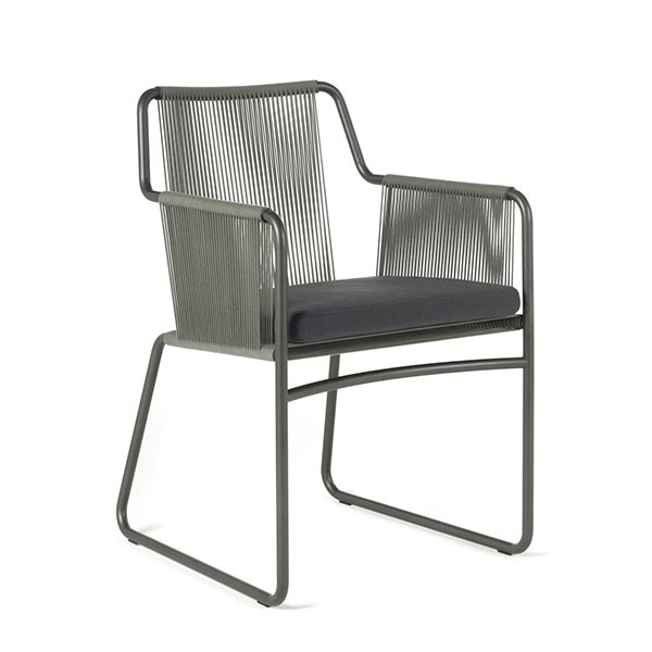 Chaise Avec Accoudoirs Harp Roda JardinChic