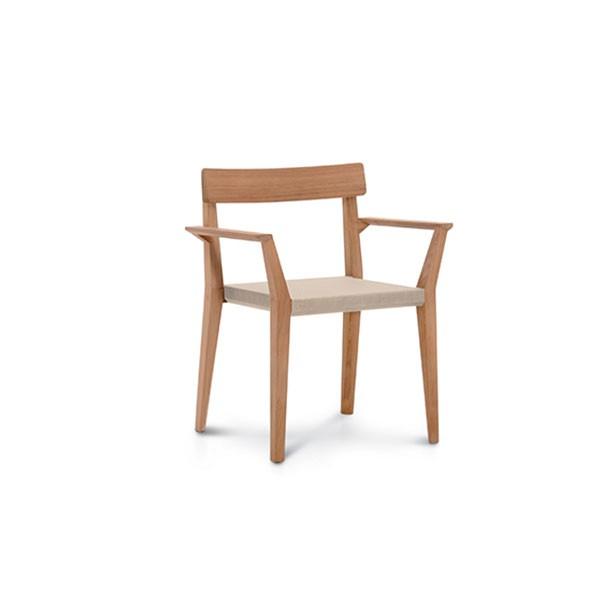 Chaise Avec Accoudoirs Teka Roda JardinChic