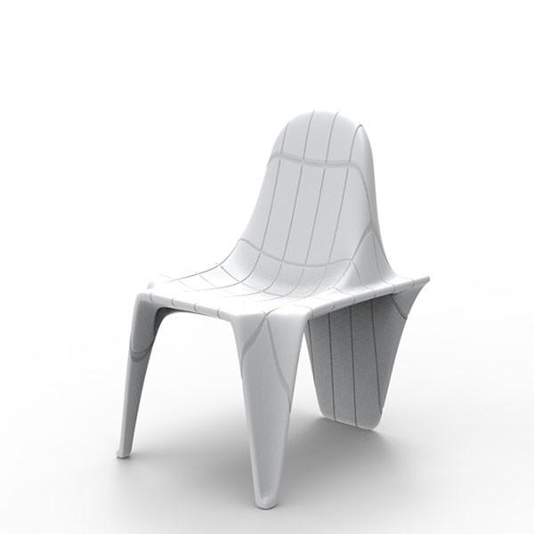 Chaise F3 Blanc Vondom Jardinchic
