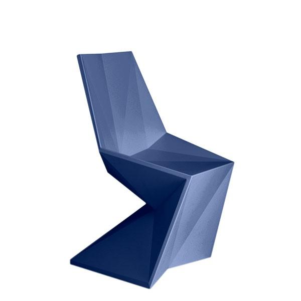 Chaise Vertex Bleu Marine Vondom Jardinchic