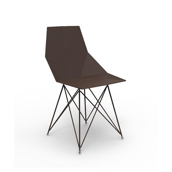 chaise de repas pi tement inox faz jardinchic. Black Bedroom Furniture Sets. Home Design Ideas