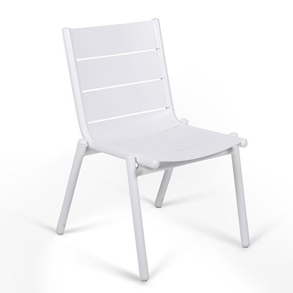 Chaise Pilotis Aluminium Vlaemynck Jardinchic