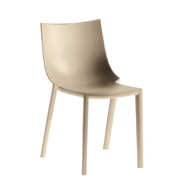 Lot de 2 chaises empilables bo jardinchic for Chaises empilables