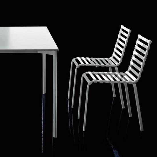 Chaises Empilables 4 De Striped Lot vN8wmn0