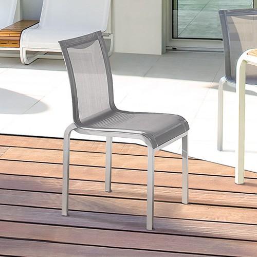Chaise repas tandem jardinchic - Mobilier jardin fly paris ...