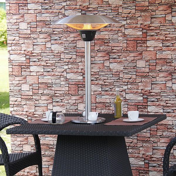 chauffage de table d 39 ext rieur halog ne 2100w jardinchic. Black Bedroom Furniture Sets. Home Design Ideas