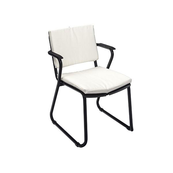 coussin d 39 assise dossier pour fauteuil repas corail jardinchic. Black Bedroom Furniture Sets. Home Design Ideas