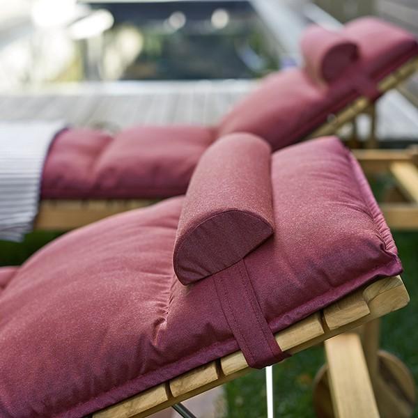 coussin de t te pour bain de soleil et chaise longue barcode jardinchic. Black Bedroom Furniture Sets. Home Design Ideas