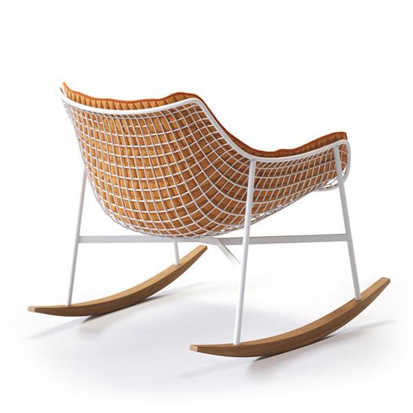 coussin int gral pour rocking chair summer set jardinchic. Black Bedroom Furniture Sets. Home Design Ideas