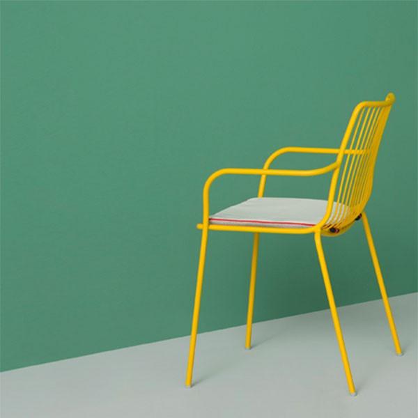 lot de 2 coussins d 39 assise pour chaises nolita jardinchic. Black Bedroom Furniture Sets. Home Design Ideas
