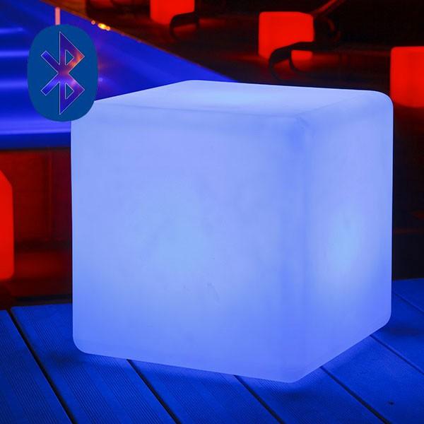 Lampe Poser Cube Bluetooth Jardinchic