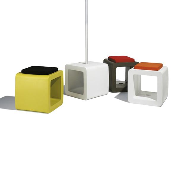 Socle/tabouret Cube Piscine Sywawa JardinChic