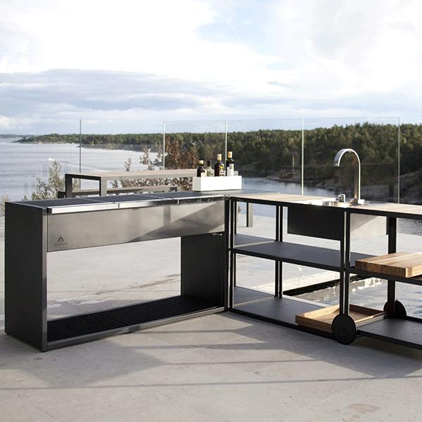 Module de cuisine garden sideboard jardinchic for Cuisine exterieur