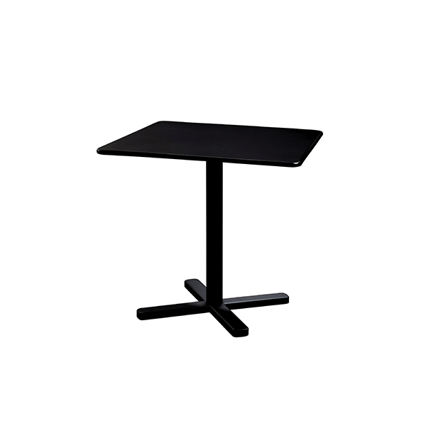 Table Carrée Pliante Darwin Noir Emu JardinChic