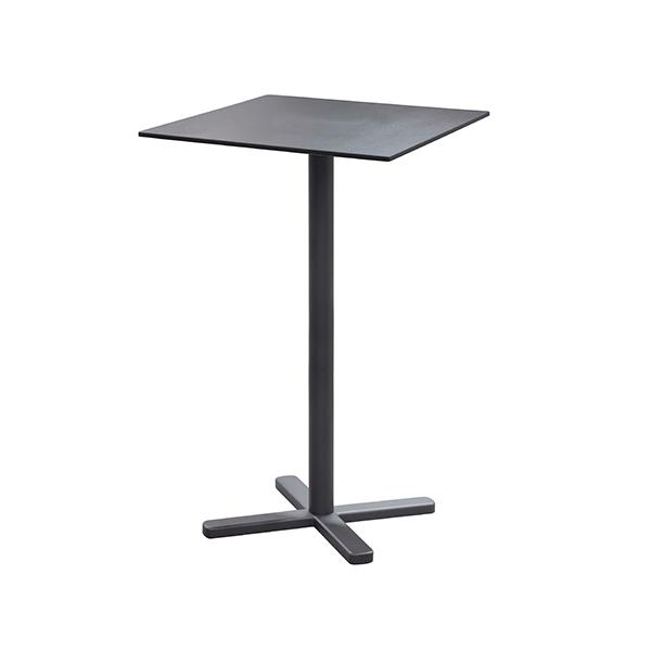 table carr e haute pliante darwin jardinchic. Black Bedroom Furniture Sets. Home Design Ideas
