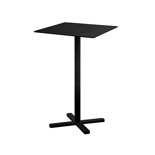 Table Carrée Haute Pliante Darwin Noir Emu JardinChic